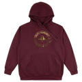 GOLDEN CYCLE PULLOVER / MAROON