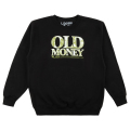 OLD MONEY CREWNECK / BLACK