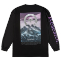 RESEARCH PEAK  LS TEE / BLACK