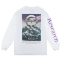 RESEARCH PEAK  LS TEE / WHITE