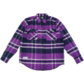 POWDER MOVES LS FLANNEL / VIOLET