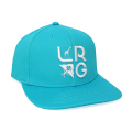 STACKED LOGO SNAPBACK / TEAL