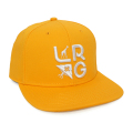 STACKED LOGO SNAPBACK / YELLOW