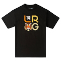 ICON TIGER STACK TEE / BLACK