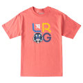 ICON TIGER STACK TEE / CORAL