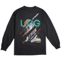 "KING OF NATURE LONG SLEEVE TEE ""BLACK"""