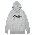 CYCLE UNIT ZIP HOODIE / ATHLETIC HEATHER