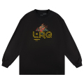 BURNING BUSH LS TEE / BLACK
