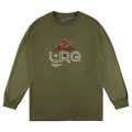 BURNING BUSH LS TEE / MILITARY