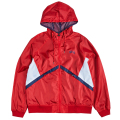 DROP SHOT SCRIPT JACKET / RED