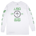 LRG x IN4MATION FINDAWAY LONG SLEEVE TEE / WHITE