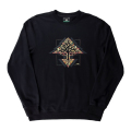 TREE MOTHERLAND CREW SWEATSHIRT / BLACK