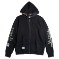 "BRANCHING OUT ZIP HOODIE ""BLK"""