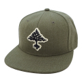 GROW TREES SNAPBACK HAT / OLIVINE