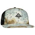 DESERT CAMO TRUCKER HAT / BLACK ONYX