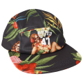 STRANGE DAYS 5 PANEL HAT / BLACK ONYX
