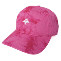 TIE DYE TREE DAD STRAPBACK HAT / ROSE VIOLET