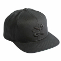 "DOWN WITH L SNAPBACK HAT ""BLACK BEAUTY"""
