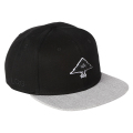 "3D TREE LOGO SNAPBACK HAT ""BLACK"""