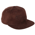 "FAUX SURE STRAPBACK HAT ""BRACKEN"""