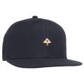 BE GOLD SNAPBACK HAT / NAVY