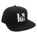 FRONT SIDE SNAPBACK HAT / BLACK