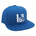 FRONT SIDE SNAPBACK HAT / ROYAL BLUE