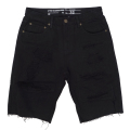 REAPER OVERDYE DENIM SHORTS / BLACK