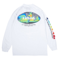 ALL WORLD LIFE MAKERS LS TEE / WHITE