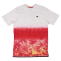 "PLANET TIE DYE KNIT ""RED"""