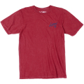 "LIFTED TREE WASH TEE ""RED WASH"""