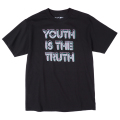"YOUTH IS THE TRUTH TEE ""BLACK"""