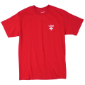 "LOGO PLUS TEE ""RED"""