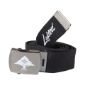 "LIFTED SCRIPT BELT ""BLACK"""