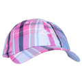 LRG BEACON DAD HAT/ PALE BLUE PLAID