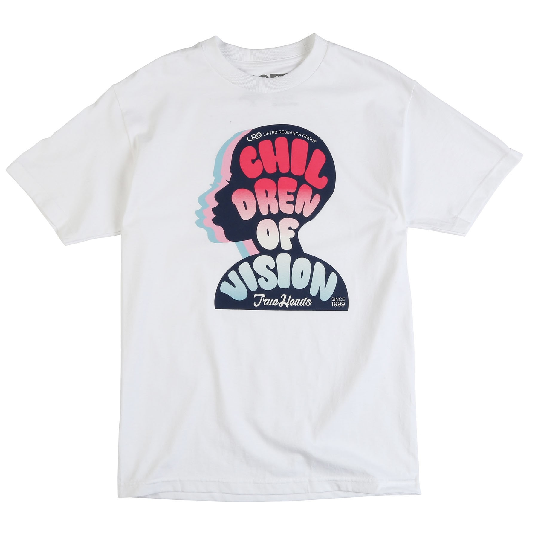"CHILDREN OF VISION TEE ""WHITE"""