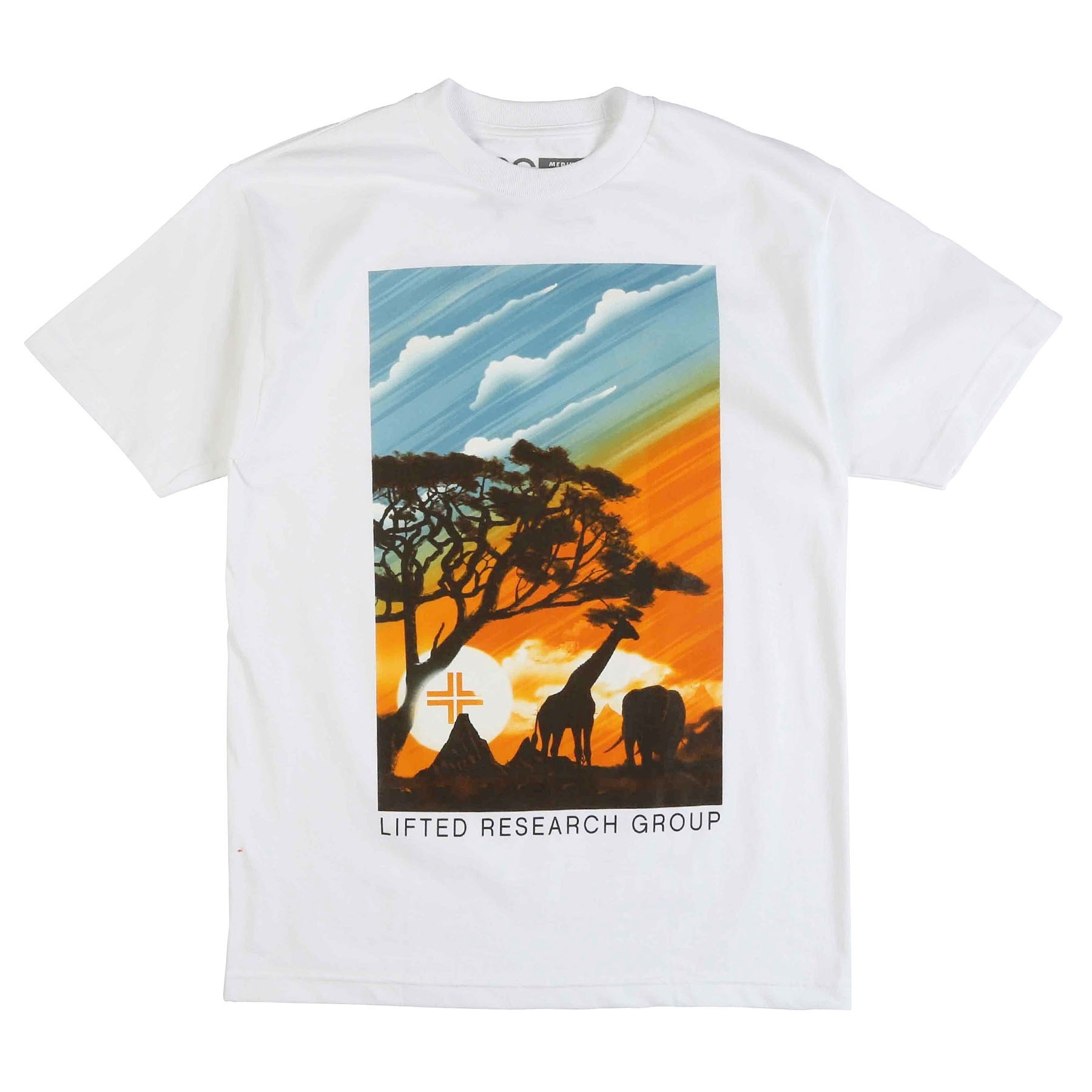 "HEAD IN THE CLOUDS TEE ""WHITE"""
