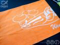 ウィードベッドモンスター×ラッティーツイスター コラボタオル 2019カラー ライトオレンジ