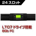 Tandberg Data テープライブラリ NEOs T24 LTO7