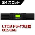 Tandberg Data テープライブラリ NEOs T24 LTO8
