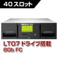 LTO7 40スロット テープライブラリ OV-NEOxl40A7F