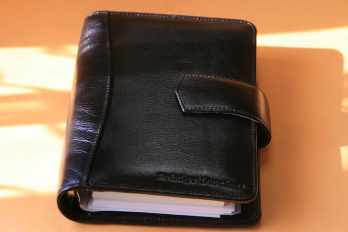 オリジナルシープ革システム手帳<送料無料>