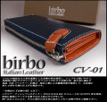 【birbo】 イタリアンレザー本革 ZIPロングウォレット