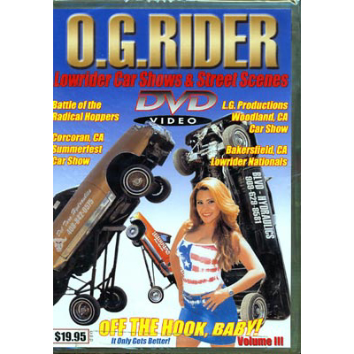【DVD】O.G.RIDER VOL.3 (LOW RIDER)