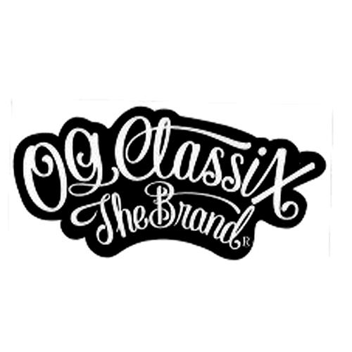 【OG CLASSIX】オージークラシックス OG THE BRAND STICKER(XS)  ステッカー