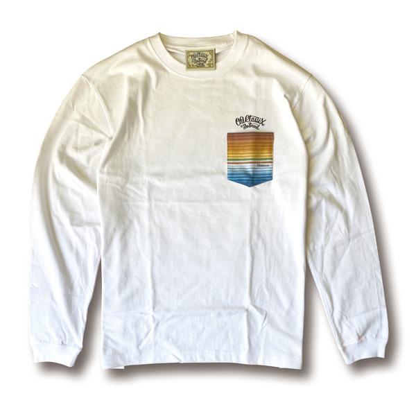 【OG CLASSIX/オージークラシックス】SERAPE POCKET LA VIDA 5.6oz. LONG SLEEVE TEE【Tシャツ】【長袖】【5.6oz.】【サラペ】【ポケット】