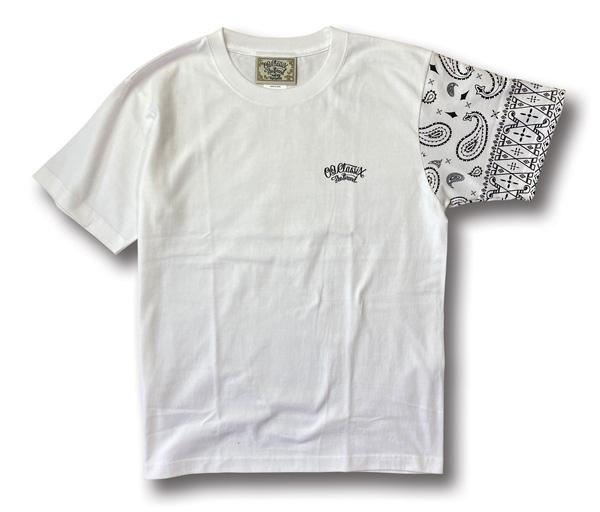 【OG CLASSIX/オージークラシックス】LIFE LINE 6.2oz. S/S TEE【Tシャツ】【6.2oz】【バンダナ】