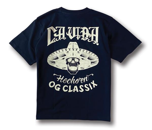 【OG CLASSIX/オージークラシックス】LA VIDA SERAPE POCKET 6.2oz. S/S TEE【Tシャツ】【6.2oz】【サラぺ】【ポケット】