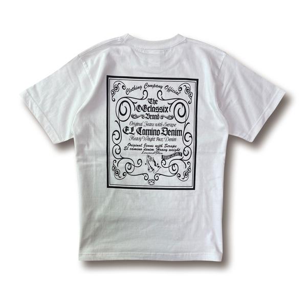 【OG CLASSIX/オージークラシックス】EL CAMINO DENIM TAG 6.2oz. S/S TEE【Tシャツ】【6.2oz】