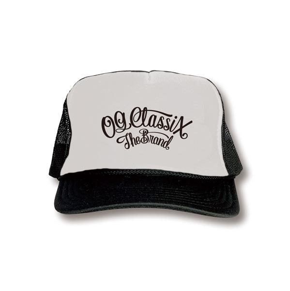 4colors【OG CLASSIX/オージークラシックス】CORPORATE MESH CAP【メッシュキャップ】【ロゴ】【ツバ裏】